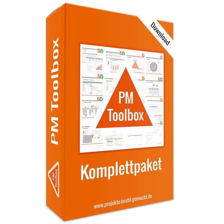 PM-Toolbox - Das Projektmanagement-Vorlagenpaket